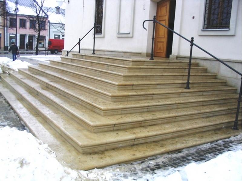 Zaawansowane Schody z piaskowca - piaskowiec idelany na schody z kamienia ED82